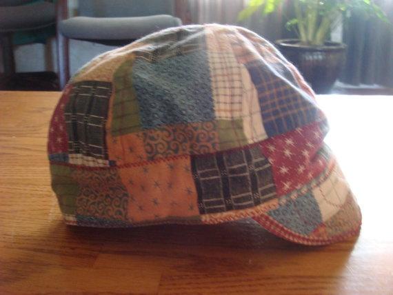 Short Crown Reversible Welding Caps by jillhowes1 on Etsy, $10.00