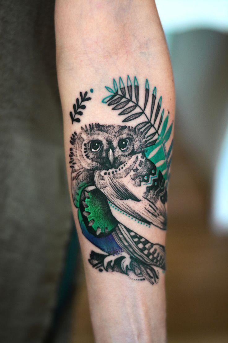 Instagram @dzo_lama facebook Dżo Lama  #tattoo #tatuaz #tattoowork #project #design #ink #inked #graphic #tattuaggio #btattooing #tattuaje #illustration #татуировка #тату #krakow #berlin #wroclaw #warszawa #prague #praha #tetovani #tätowierung #tatuajes #dzolama #dzo #lama #owl