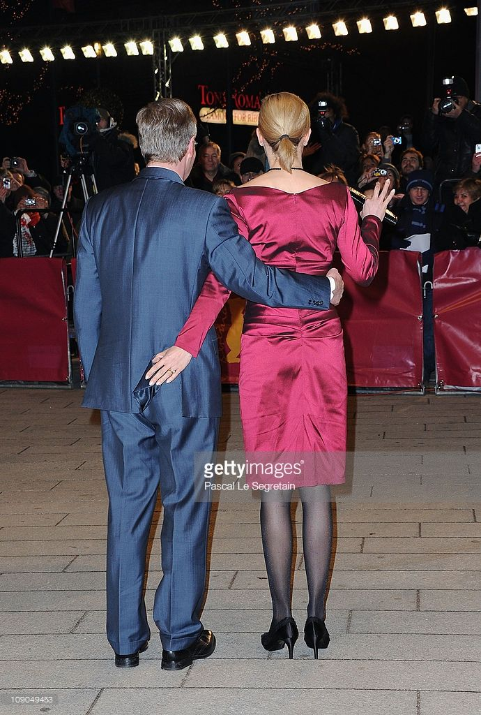 German President Christian Wulff and his wife Bettina Wulff attend the 'Pina' Premiere during day four of the 61st Berlin International Film Festival at Berlinale Palace on February 13, 2011 in Berlin, Germany.