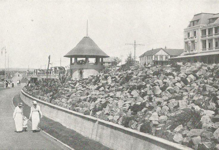 Rockery on the Beach, Durban. ca. 1920