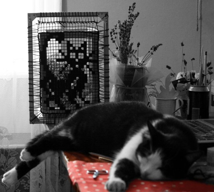Model sleeps