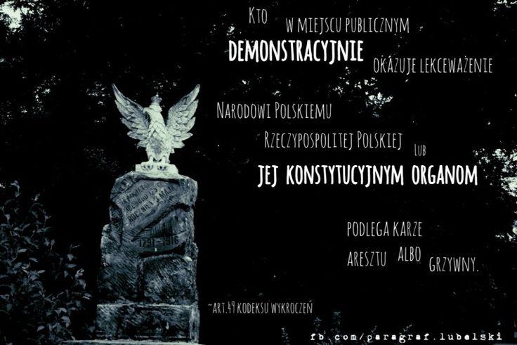 Okazywanie lekceważenia narodowi polskiemu www.adwokat-sarzynski.pl adwokaci w Lublinie Sandomierzu