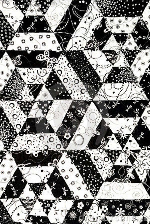 17 best ideas about black quilt on pinterest geometric for Black white and gray quilt patterns