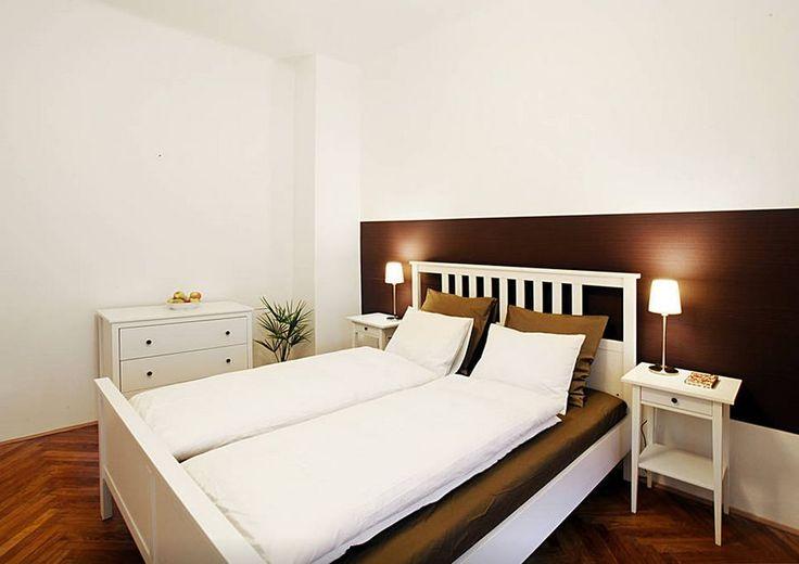Модная белая спальня:)