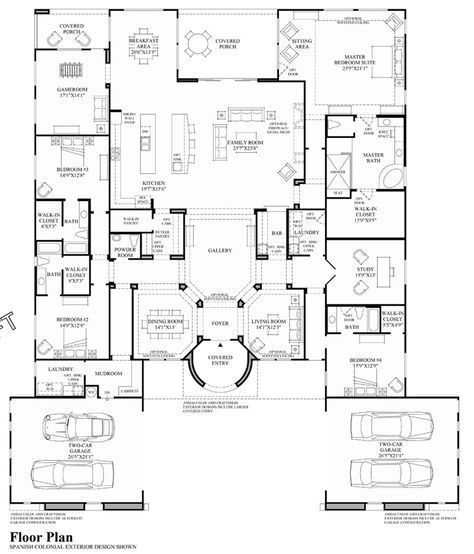 Incroyable The 25+ Best Luxury Home Plans Ideas On Pinterest | Dream Home Design, Nice  Big Houses And Big Homes