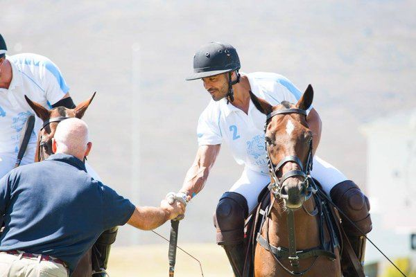 We're proud of our Shimmy Polo Team who competed in the #Port2Port final this weekend at @valdevieestate. #TeamShimmy. Nicky van der Walt