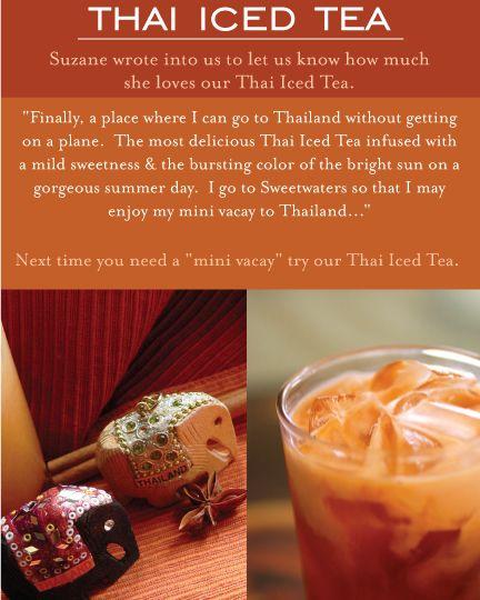Thai Iced Tea | Indulge In Greatness | Pinterest | Iced Tea ...