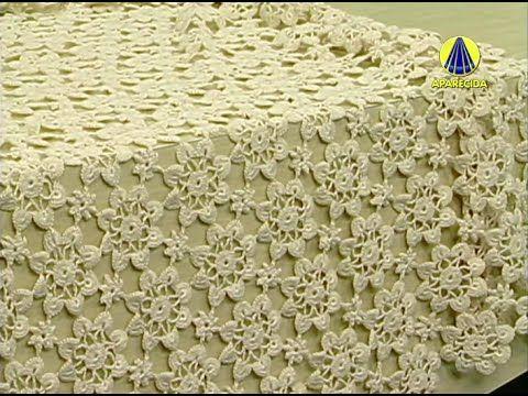 Vida com Arte   Toalha de Mesa em Crochê por Sandra Motti - 26 de Agosto...