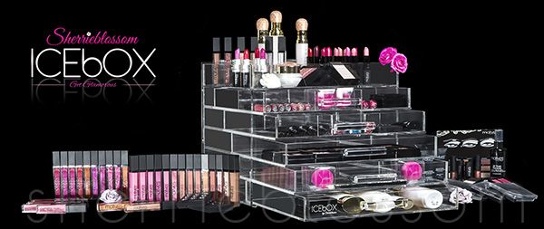 The Sherrieblossom Icebox Makeup Organizer - The Icebox Wide! I have this organizer and love it !!
