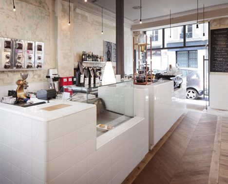 Café Coutume, Paris, by Cut Architectures