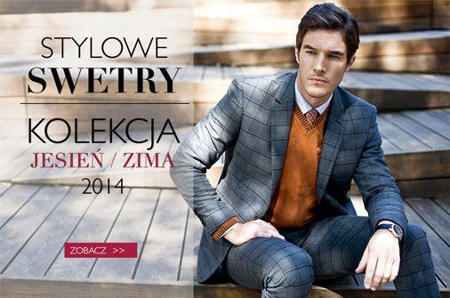 Stylowe swetry Recman z nowej kolekcji. Sprawdź naszą ofertę na: http://bit.ly/Recman_Swetry