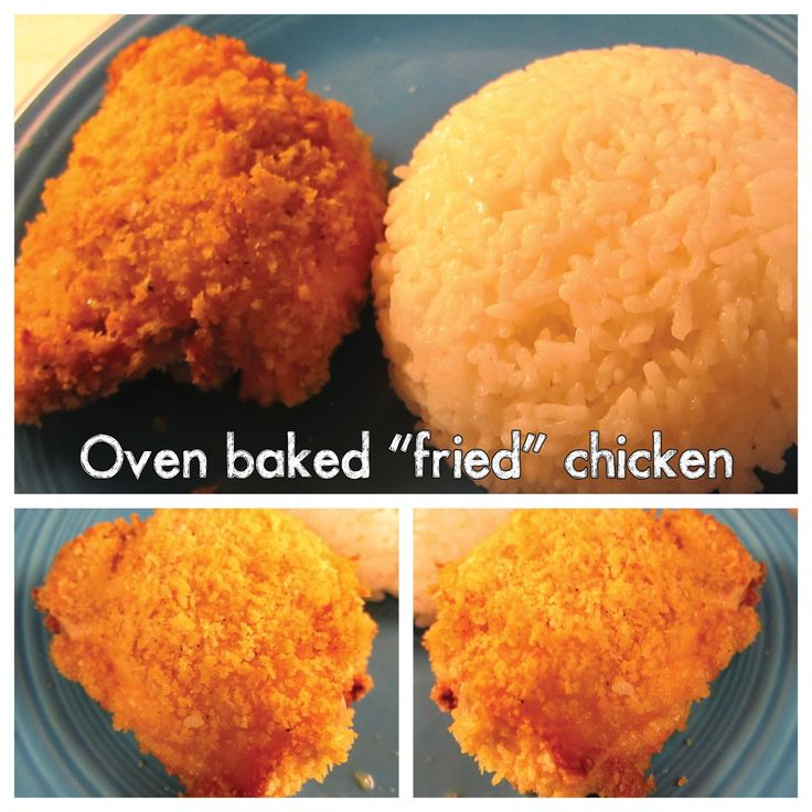 Baked fried chicken breast recipes easy