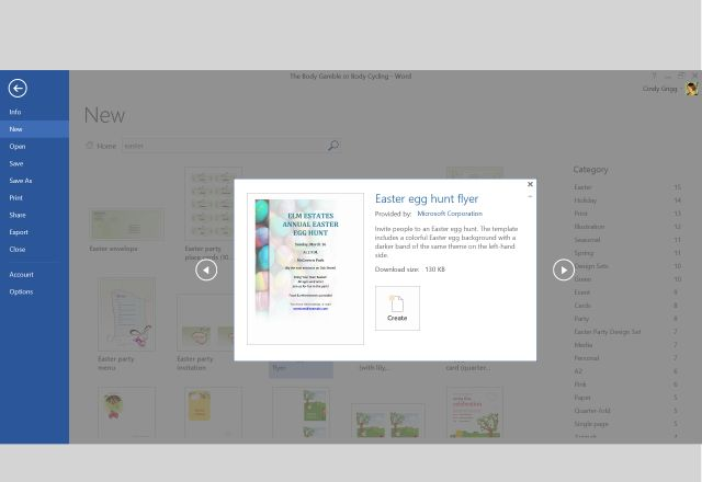 Lighten Up Your Easter Preparation with Templates for Microsoft