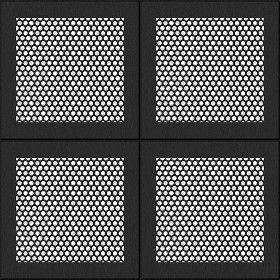 Textures Texture Seamless Black Ceiling Perforated Metal