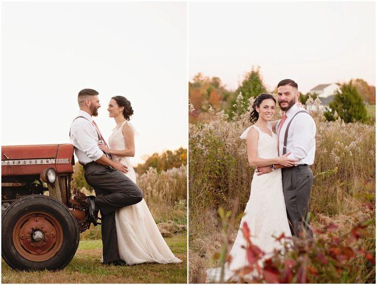 Vintage Farm Barn Wedding Venue In Virginia Fall Wedding At Glasgow Farm In Fredericksburg