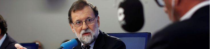 Rajoy ve a Puigdemont y Junqueras inhabilitados políticamente aunque se presenten al 21-D