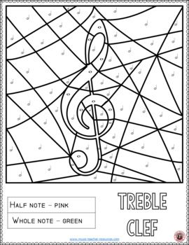 Music Coloring Pages: Music Activities for Music in Our Schools ...