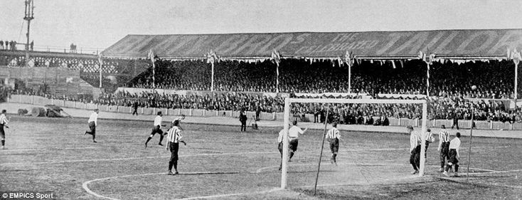 Spurs 1901 - the first non-league team to win the FA Cup