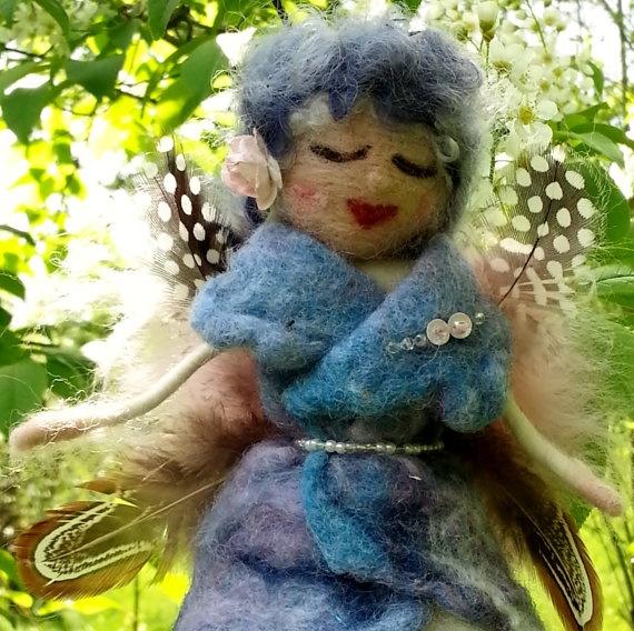 Waldorf inspired Spring Fairy