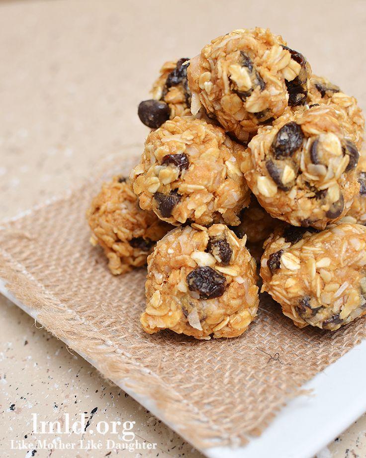 No Bake Granola Bar Bites   Recipe   Chocolate chips, No ...