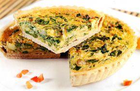Tarta de Acelga y Cebollas de Verdeo, una #receta fácil para tus comidas.