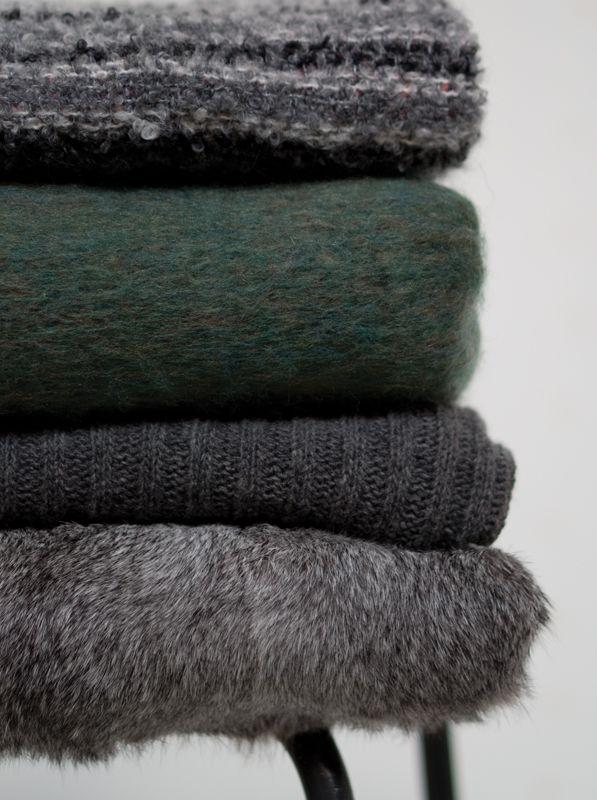 A.U Maison AW16. #aumaison #interior #homedecor #styling #danishdesign #livingroom #blankets #fur