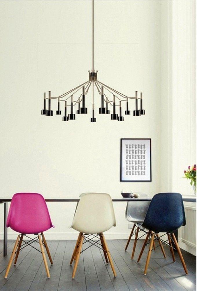 Herman Miller ® Eames DSW - Molded Plastic Side Chair with Dowel-Leg Base | AllModern