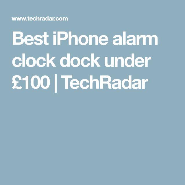 Best iPhone alarm clock dock under £100 | TechRadar
