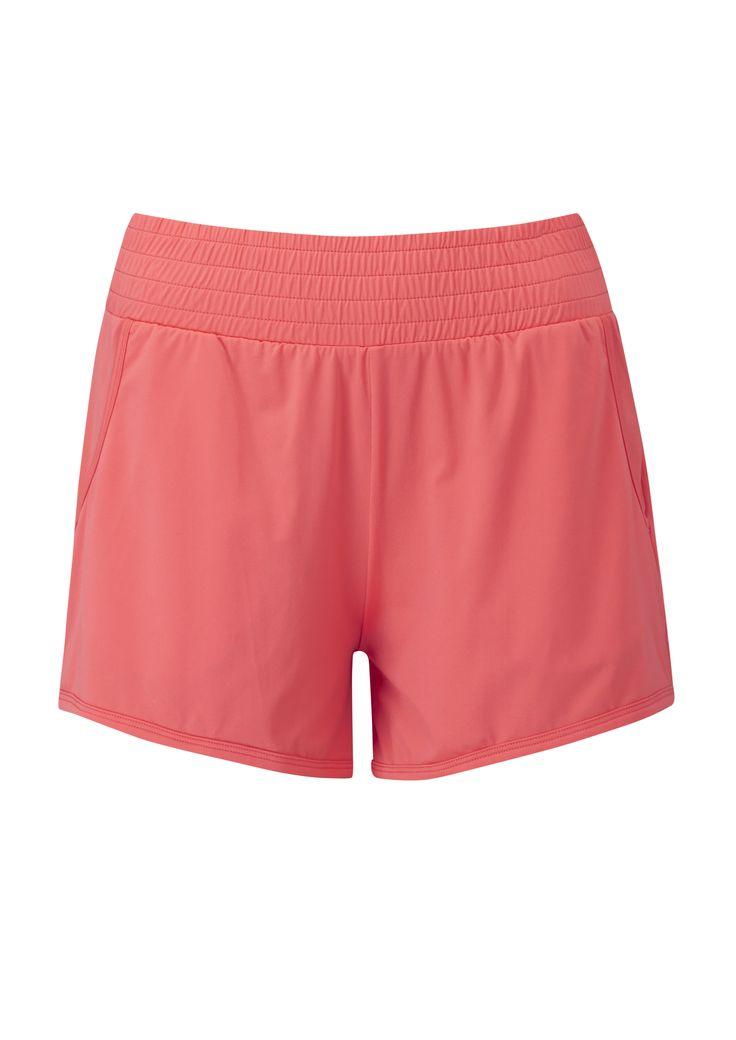 Air Shorts bright orange