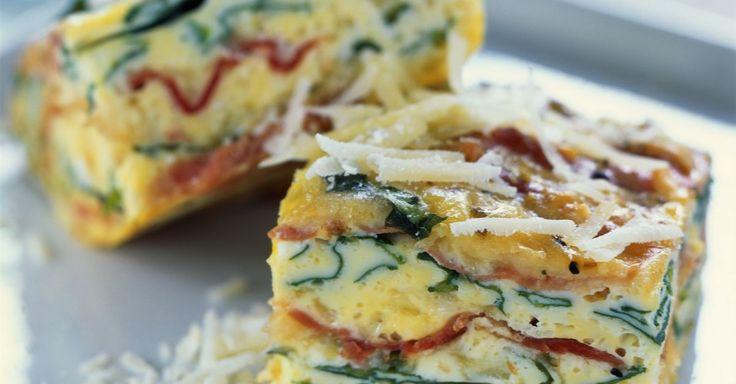 Probieren Sie die leckere Schinken-Rucola-Frittata von EAT SMARTER