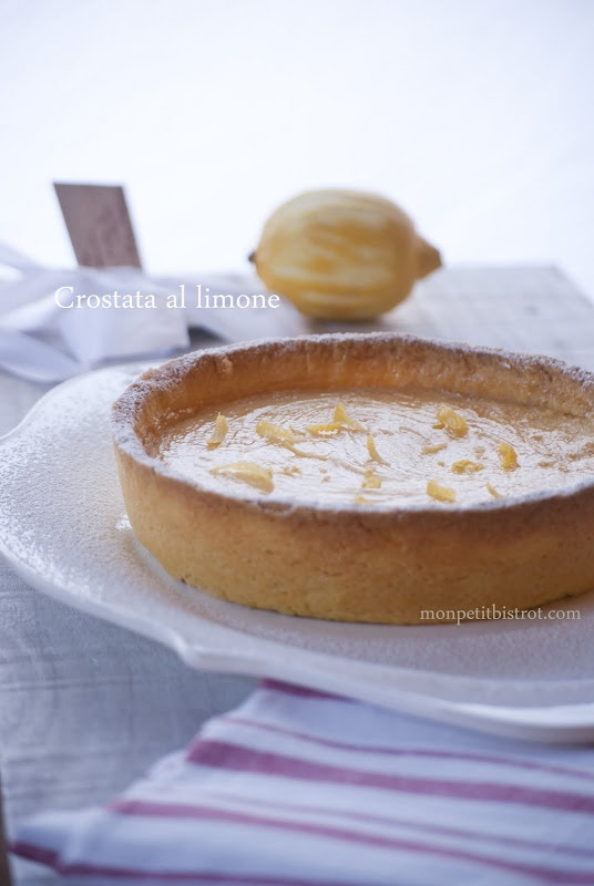 Crostata al limone _recipe by Carlo Cracco_Mon petit bistrot Ingredients amounts were wrong in his book
