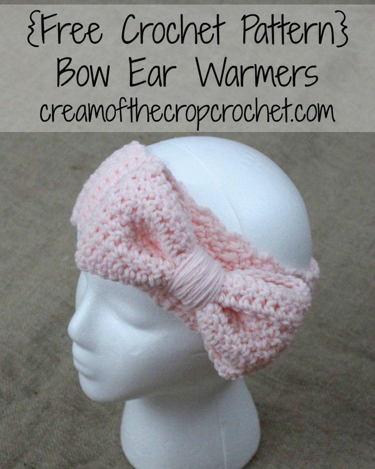 140 Best Ear Warmersheadbands Images On Pinterest Knit Crochet