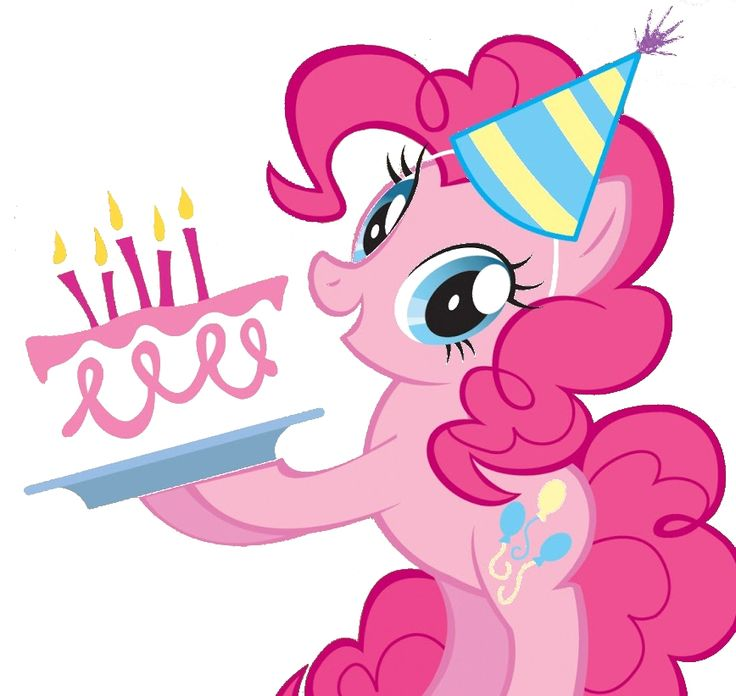 Открытка литл пони с днем рождения, день