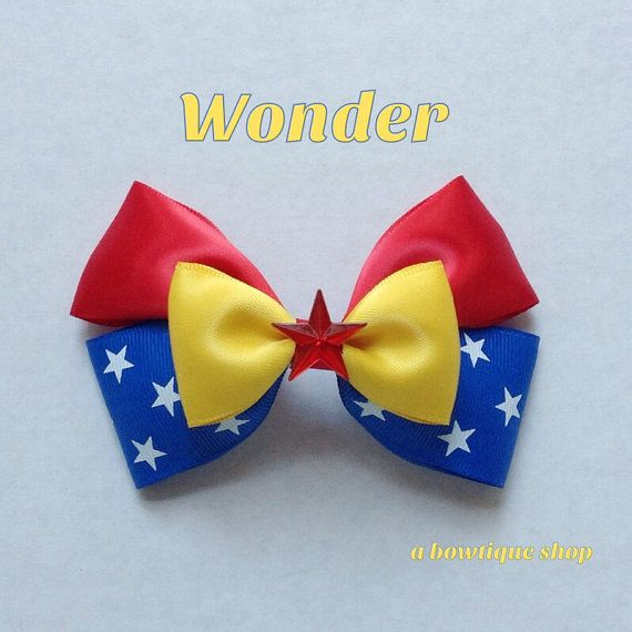 Hey, I found this really awesome Etsy listing at https://www.etsy.com/listing/214123403/wonder-hair-bow