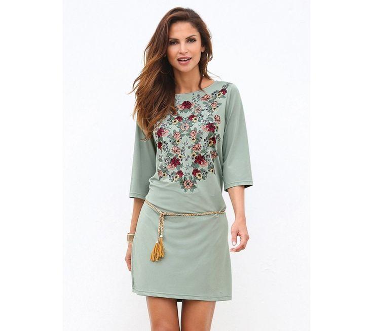 Krátké šaty s potiskem květin | modino.cz #modino_cz #modino_style #style #fashion #summer #bestseller