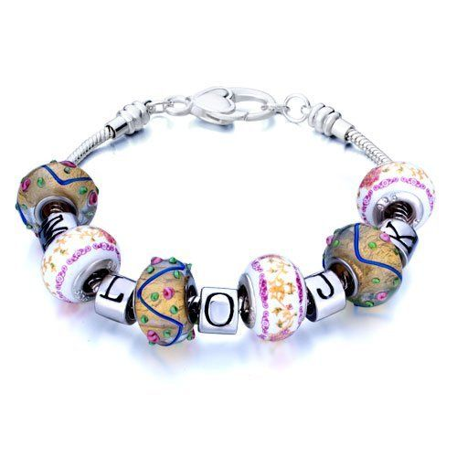Valentines Day Gifts Pugster Beads Fit Pandora Chamilia Biagi Charm Murano Glass Bracelet Pugster. $25.49. Stunning Colorful Murano Glass Style Designer Fashion bracelet. Money-back Satisfaction Guarantee. Great to give away as presents, gifts to friends or family members.. Handmade in China in the VenetianáMuranoáStyle. Free Jewerly Box.