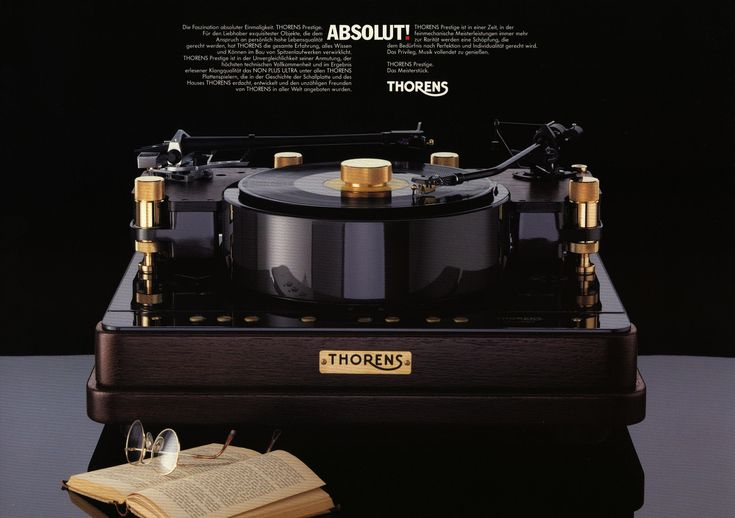 """Thorens - Prestige ,Audiophile High End Turntable"" !...  http://about.me/Samissomar"