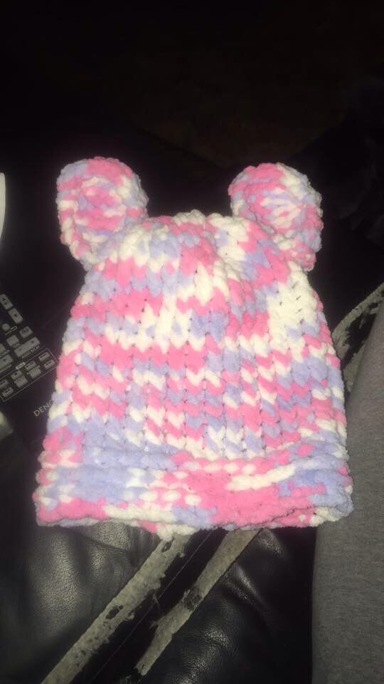 Cute hat with ears