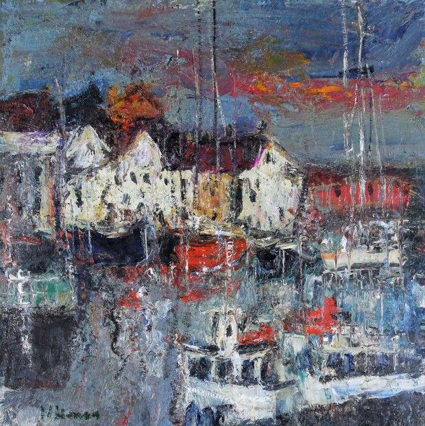 Nael Hanna Pittenweem Oils   Scottish Contemporary Art