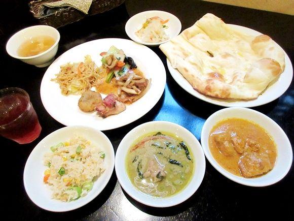 1000円でインド・タイ・中華料理が食べ放題! 味とコスパを両方極めた最強ランチビュッフェがこれだ!! 東京・神楽坂「アジアンパーム」 | ロケットニュース24