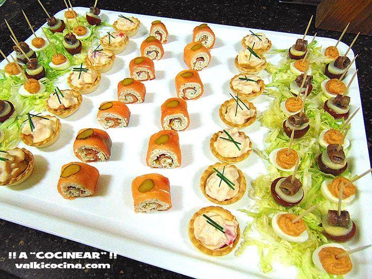M s de 25 ideas incre bles sobre aperitivos navide os en for Canape bases ideas