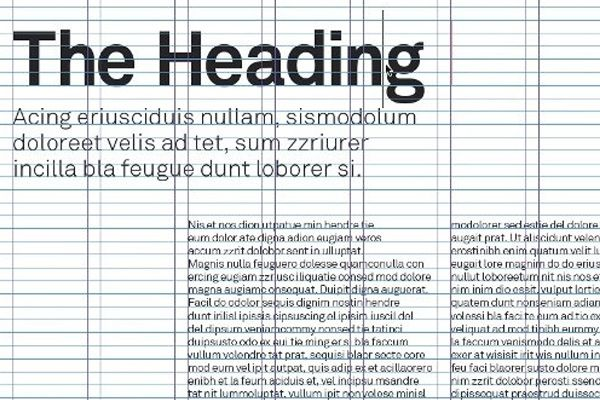 adobe indesign typographic layouts grids howto | InDesign