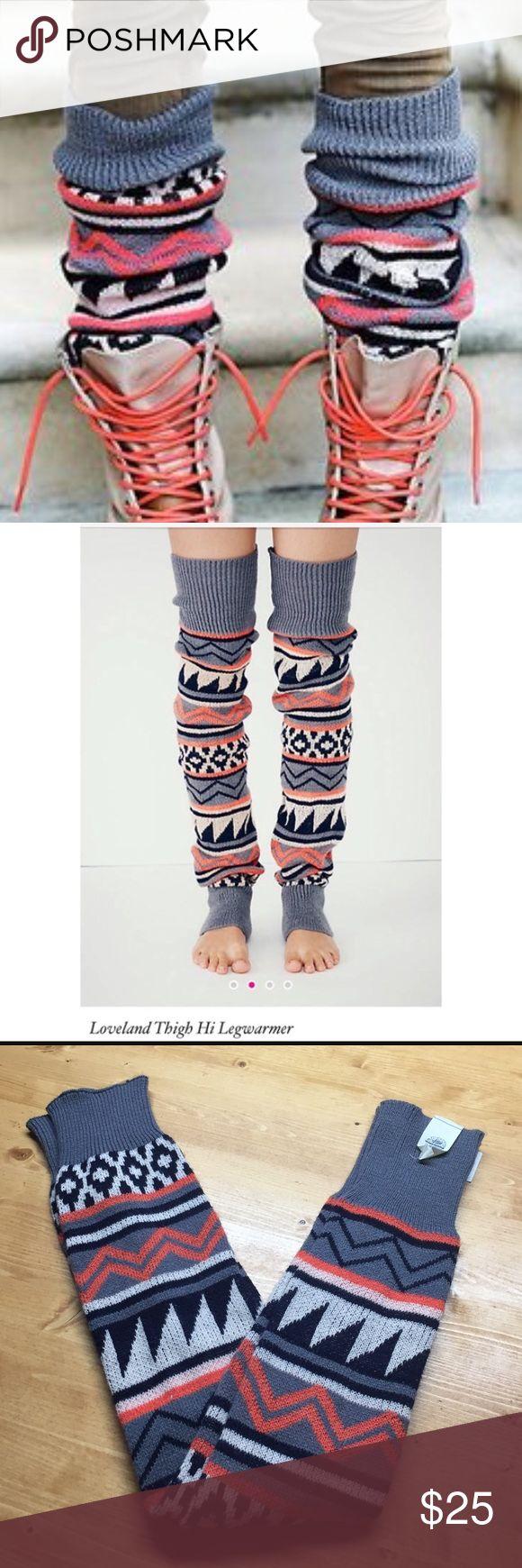 Free People Leg Warmer NEW Free People Loveland Thigh High Leg Warmers! Free People Accessories Hosiery & Socks