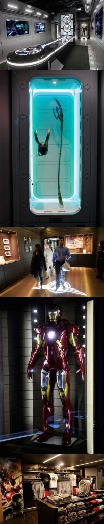 Visiting Marvel's Avengers STATION! #geektravel #SHIELD