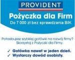 Pożyczka dla firm Provident jest udzielana bez BIK i zaświadczeń z ZUS oraz US. Oferta pożyczek dla firm bez Bik jest dostępna na dowód bez zaświadczenia o dochodach. Koszty pożyczki są możliwe do wliczenia w koszty Twojej Firmy. Zapraszamy do zapoznania się z ofertą i złożenia wniosku