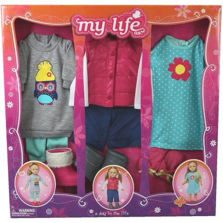 $20 My Life As A Day in the Life Doll Clothing Set, Outdoor Girl - Walmart.com