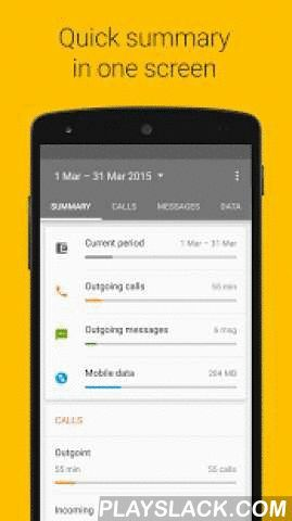 Callistics - Data Usage, Calls  Android App - playslack.com ,  Here's your data manager, calls and message tracking app for you — Callistics - call statistics and data usage. It keeps track of all your call logs history more efficiently than your phone's in-built call log with advanced functions like specific day chart, number of incoming and outgoing calls and messages for day, metrics provided per contact, and many more. What is more you can see your mobile, wifi and roaming data usage in…
