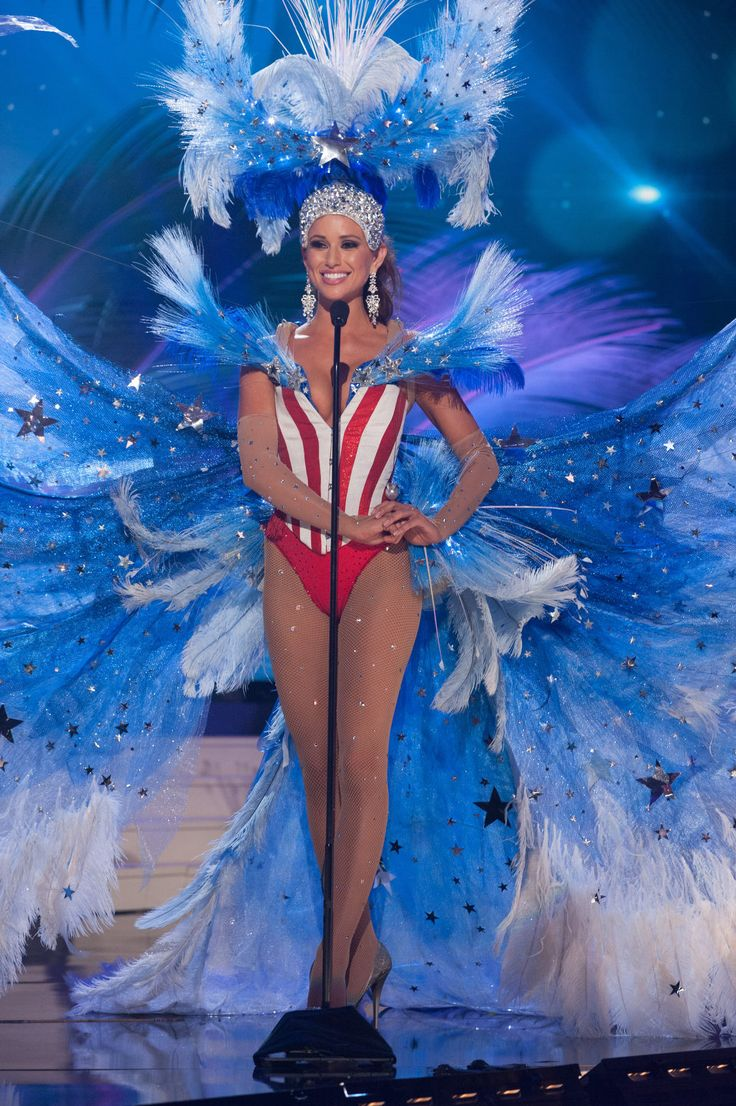 USA - National Costume Inspired By The Miss Universe 2015 Pageant