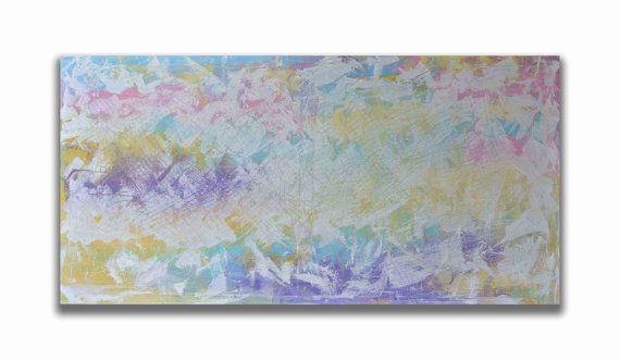 47''  Original Painting  Abstract Painting  by RomanArtStudio