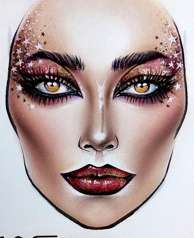 makeup artist meet tumblr drawings